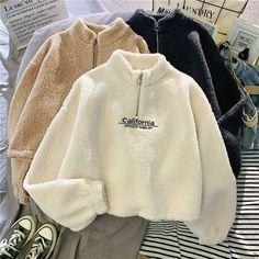 Girls Fashion Clothes, Winter Fashion Outfits, Sweater Fashion, Aesthetic Shirts, Aesthetic Clothes, Iranian Women Fashion, Korean Fashion, Women's Fashion, Sweat Shirt