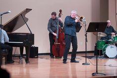 Playing with the great trombonist Jim Pugh!  paulshawmusic.com