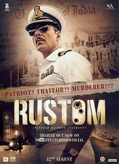Three Fatal Shots Change Their Lives💗 #Rustom Is A Gripping Tale About Pride, Passion & Power, And A Man Who Must Uphold His Own Integrity And That Of The Nation!👉 #VijenderBora💗 A Dashing Naval Officer, A Beautiful Wife And A Perfect World🌎 This Was Naval Commander #AkshayKumar Rustom Pavri's Life..! Until One Day He Realizes His Perfect Life Isn't What He Thought It Was..! As Events Unfold We Realize His Wife Is Having An Emotional Affair With His Best Friend 👫