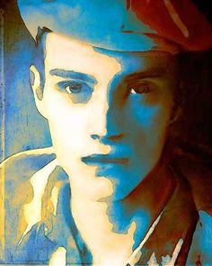 CUSTOM PORTRAIT  Damien / Giclée Art Print