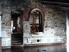 Boldt Castle - I like how you can see the different layers of material gradually stripping back til you reach the brickwork. Abandoned Castles, Abandoned Houses, Revit Software, Alexandria Bay, Inside Castles, Thousand Islands, Brickwork, Historical Sites, Places Ive Been