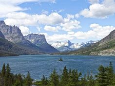 Montana, Wild Goose Island in St. Mary Lake, Glacier National Park : 50 States, 50 Landmarks : TravelChannel.com