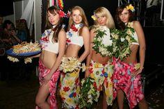 Гавайская вечеринка - костюмы своими руками 14