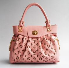 Louis Vuitton, love it in pink.