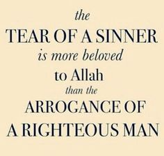 The sinner and the righteous Muslim Quotes, Islamic Quotes, Muslim Sayings, King Of Kings, Alhamdulillah, Allah, Literature, Motivational, Literatura