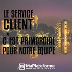 À MaPlateforme.ca, le service client, c'est notre affaire. Nous sommes toujours disponibles et disposés à répondre à leurs besoins!