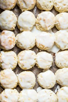 Light and flaky. these Mini Lemon Scones are perfect along with an espresso or a glass of ice cold milk! So easy to make and great for summer pot lucks.