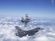 Portuguese Air Force F-16's.
