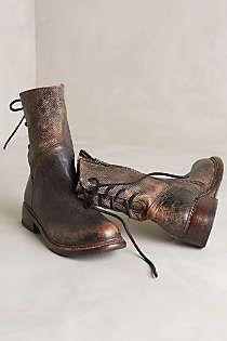 Anthropologie - Bed Stu Newark Midi Boots