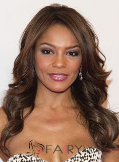 18 Inch Wavy Lace Front Lace Wigs for Black Women