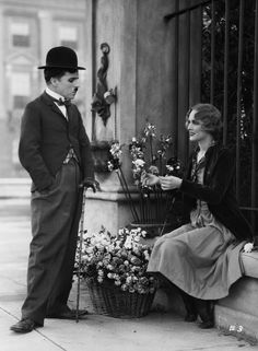 Charlie Chaplin and Virginia Cherrill, City Lights