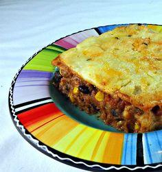 Southwestern Soft Taco Casserole #softfoodrecipe