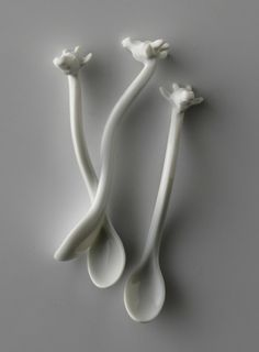 Giraffe spoons from Proof of Guild | Photo by GinkgoTelegraph