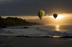 Sunrise at Punta de Mita Mexico.