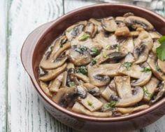 Poêlée de champignons minceur à l'ail et au persil