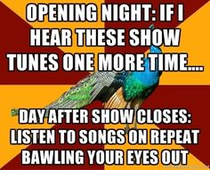 ...I can't deny that I totally do this. After every show. For years afterward.