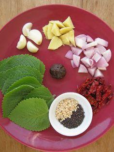 KARI LEAFS ... Malaysian flavour's: CAROM LEAVES THUVAIYAL