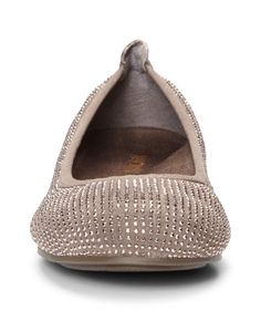 Add a little class to your casual shoes with the Spark Willow by Vionic. Award winning Orthaheel technology gives this modern take on the classic ballet flat a supportive heel and built in arch support to keep you on your feet comfortably, and a durable rubber heel keeps your footing firm. Micro stud embellishments adorn an all leather top, creating a shifting shimmer across three fashionable colors that could match nearly any wardrobe. The APMA awarded the Spark Willow with their Seal of…