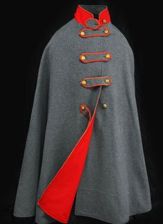 Cape worn by John S. Mosby during the Civil War (National Museum of American History)