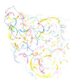 食器と食パンとペン Illustration Art, Illustrations, Creative Design, Poppy, Art Drawings, Doodles, Design Inspiration, Magazine, Graphic Design