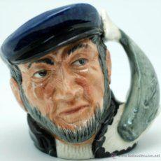 Toby jug jarra porcelana Royal Doulton Captain Ahab sello base