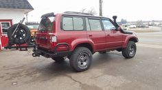 Toyota Land Cruiser FZJ80 excellent lightly modified. Just right.