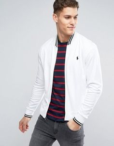 Discover Ralph Lauren at ASOS. Shop for the latest range of t-shirts, polo shirts, jeans and shorts available from Ralph Lauren. Ralph Lauren Shop, Ralph Lauren Mens Shirts, Ralph Lauren Bomber Jacket, Mens Flight Jacket, Jean Shirts, Polo Shirts, Preppy Men, Men's Outerwear, Men's Jackets