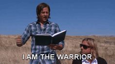 """That time Tim read """"I Am the Warrior"""" and it was hilarious."""