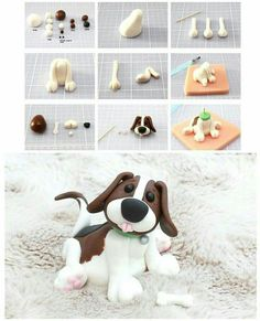 Sugarpaste dog tutorial