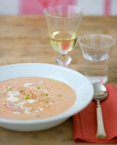 Lobster Bisque my very very favorite soup