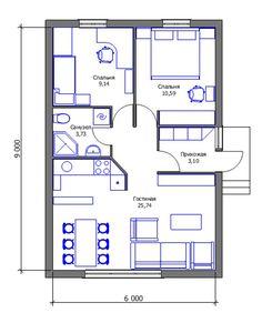 House design eco tiny homes new Ideas Mini House Plans, Small House Floor Plans, Model House Plan, Simple House Plans, House Layout Plans, Simple House Design, Dream House Plans, House Layouts, Modern Floor Plans