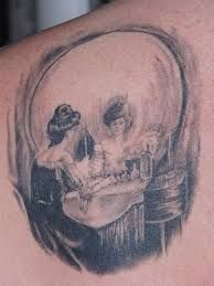 Image result for all is vanity tattoo
