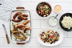 Kalkkuna- ja chorizomakkara ja currywursti | Reseptit