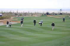Walking the beautiful fairways during Accenture Match Play in Marana, AZ