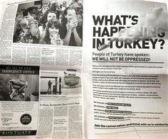 Ο Τούρκος πρωθυπουργός άσκησε κριτική για μια διαφήμιση
