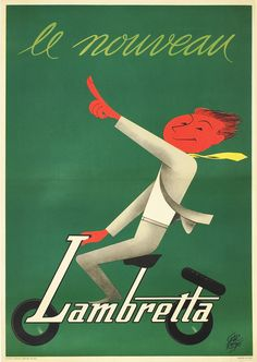 Lambretta by Garretto, Paolo | Shop original vintage posters online: www.internationalposter.com