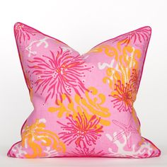 South Beach Collection Flamingo Pillow