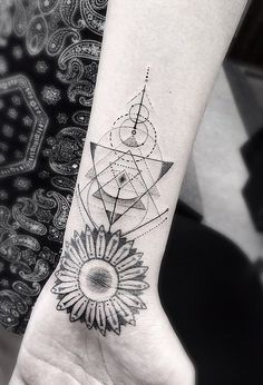 These ornate geometric tattoos will inspire your next ink