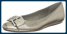 ECCO Shoes Owando Buckle Ballerina 35606301411, Damen Ballerinas, Gold (Light Gold), 41 EU / 7,5 UK - Ballerinas für frauen (*Partner-Link)