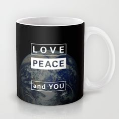 and YOU_earth Mug by SEVENTRAPS | Society6