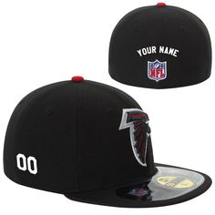 c563fc4cf New Era Atlanta Falcons Men s Customized On-Field 59FIFTY Football  Structured Fitted Hat