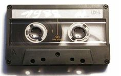 L'ancetre des cassettes video permettant d'enregistrer des sons sans l'image.