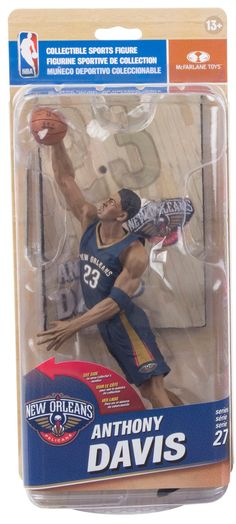 4cbfa969d Anthony Davis New Orleans Pelicans NBA McFarlane action figure NIB Series 27