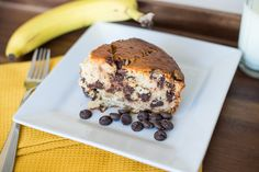 chocolate chip banana bread - Postcards from Rachel