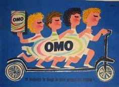 "Original French Poster Advertising ""OMO"" Detergrent by Herve Morvan Posters Vintage, Vintage Advertising Posters, Art Deco Posters, Vintage Advertisements, Vintage Ads, Retro Posters, Funny Posters, Poster Ads, Children Advertising"