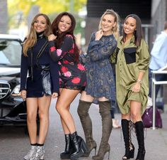 We love these boots on Little Mix in London!
