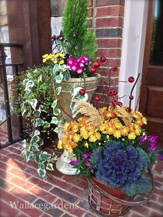 Thank God It's Fall, Y'all :: Part 2 #gardenchat #falldecor