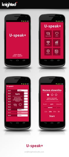 U-speak+ by Knighted studio, via Behance