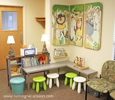 Running With Scissors: Kid Corner Extras in the Waiting Room