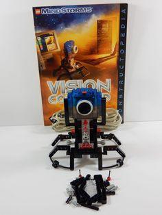 Lego Mindstorms 1.0. Vision Command #9731 w/Constructopedia #LEGO
